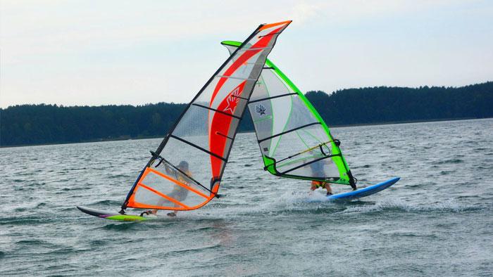 Windsurfing-binduga